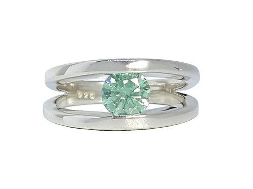*CD DESIGNER* 1.046ct Moissanite Ring in 925 Sterling Silver