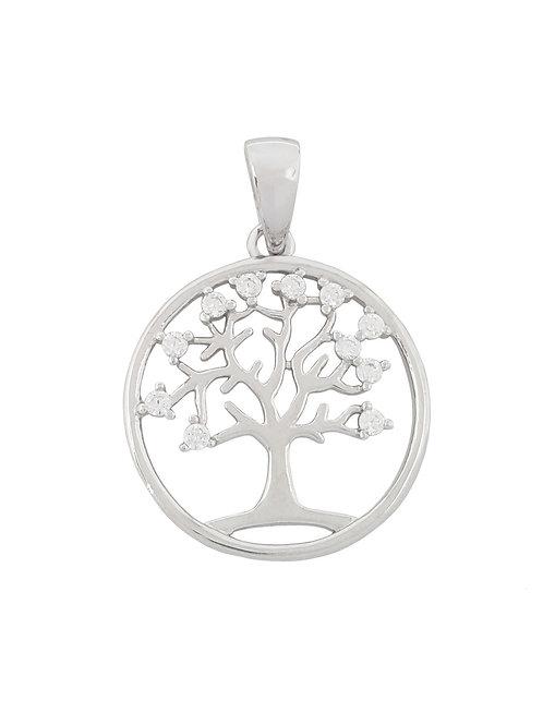 Cubic Zirconia Tree of Life pendant