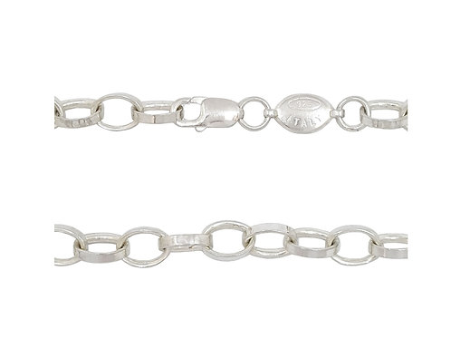 55cm Rolo Chain in 925 Sterling Silver
