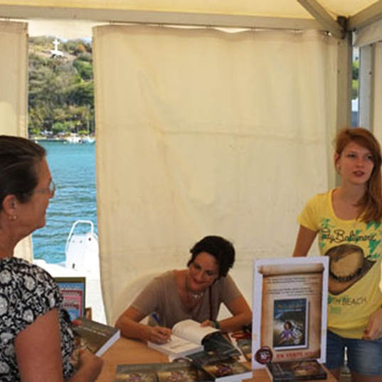 Salon du Livre Saint-Barth 2014