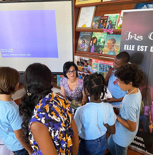 Intervention Mediatheque Anse-Bertrand