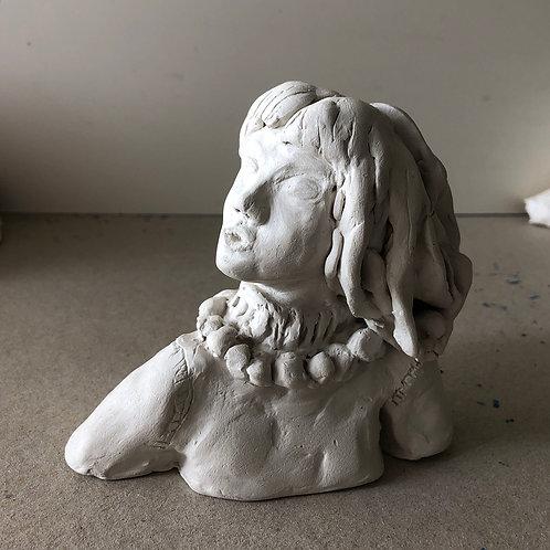 Statuette Iris Chevalier signée de l'artiste Zoé
