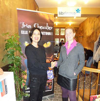 Laure Petrelat (DG Librinova) et Florence Cabre