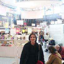 Florence Cabre au Salon du Livre, Paris