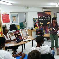 College Macal - Saint-François, lecture