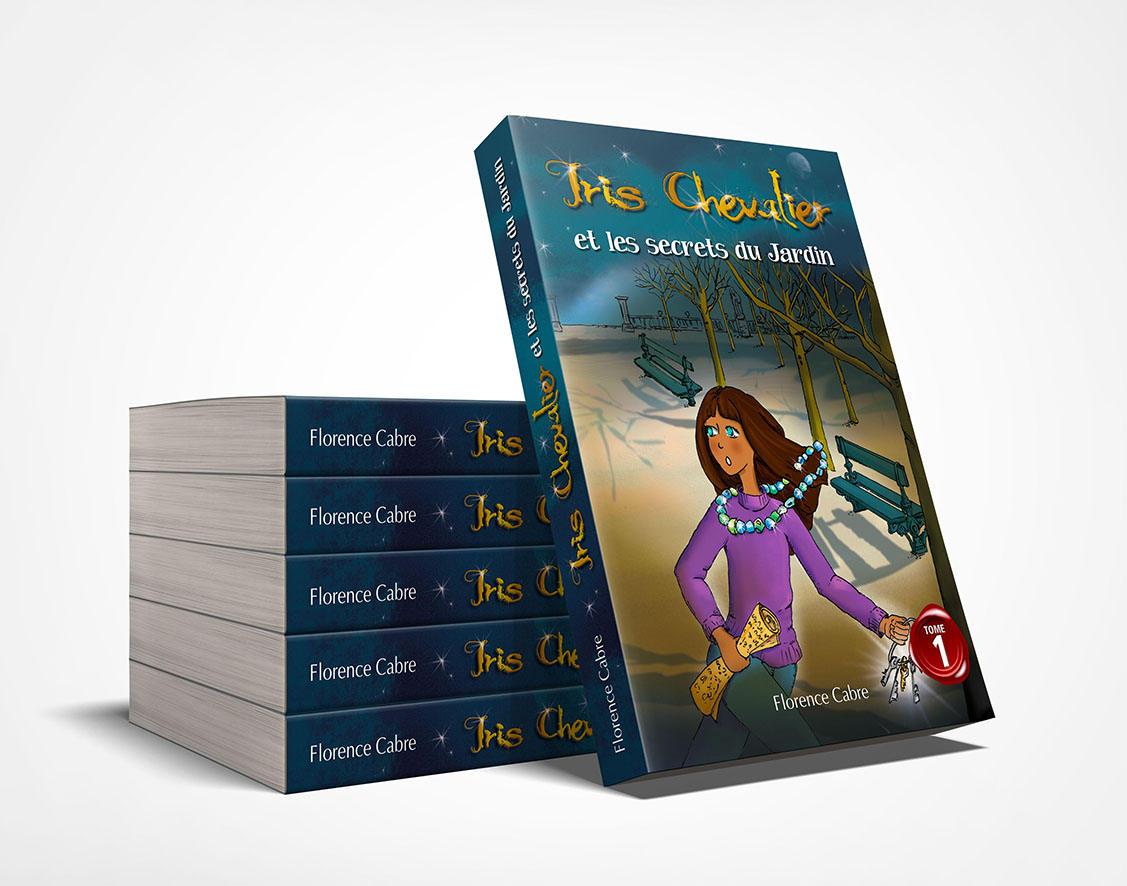 iris chevalier tome 1 pile de livres