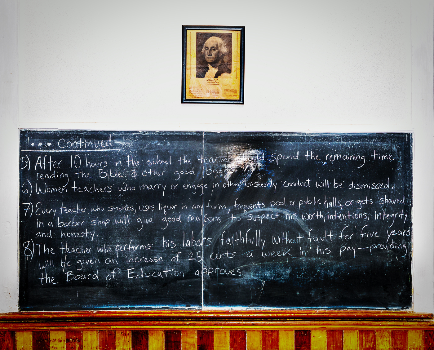Old Schoolhouse Chalkboard 01 Bob MacDon
