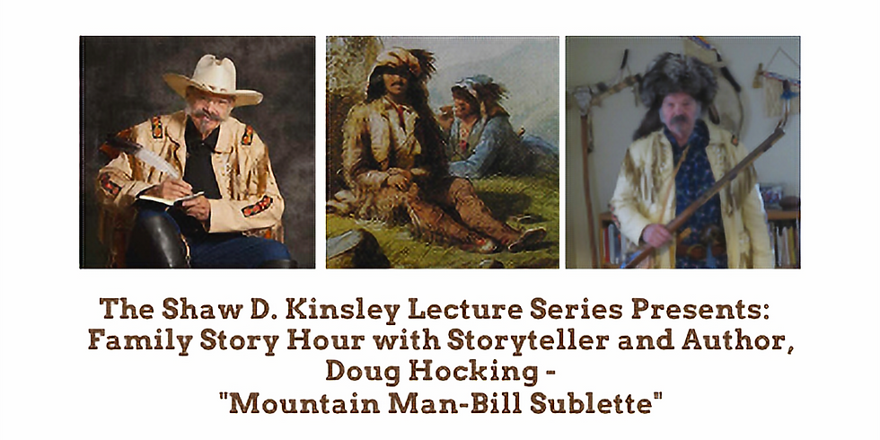 Family Story Hour with Storyteller and Author, Doug Hocking