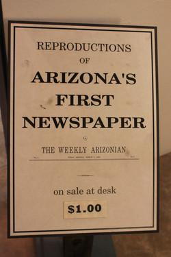 Weekly Arizonian Newspaper