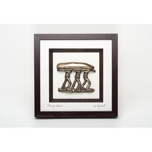 Men of Aran - Framed Bronze