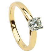SER06 Solitaire Ring
