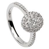 HER17 Halo Engagement Ring