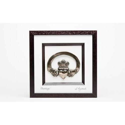 Claddagh - Framed Bronze