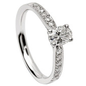 SER08 Solitaire Ring