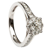 SER10 Solitaire Ring