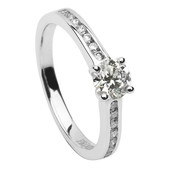 SER12 Solitaire Ring