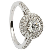 HER14 Halo Engagement Ring