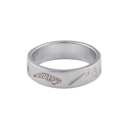 History of Ireland - Silver Ring - Y