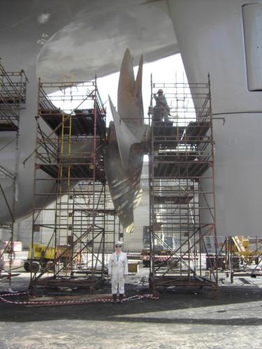 Ships propeller