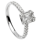 SER20 Solitaire Ring