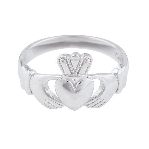 Gents Silver Claddagh Ring