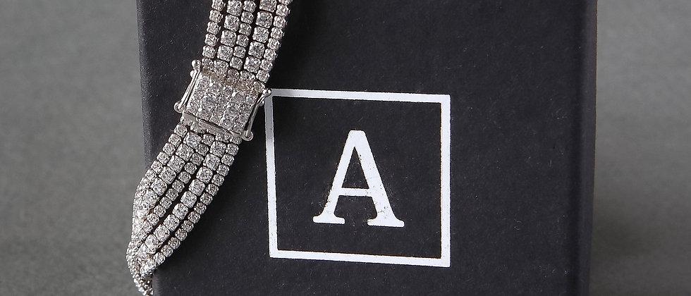 Silver Dress Bracelet