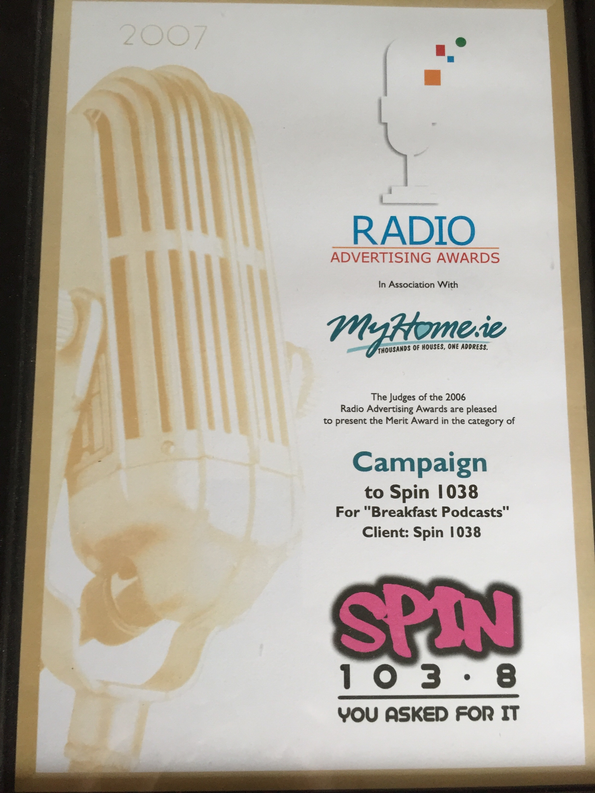 Joe Donnelly Today FM TXFM RTE TV3