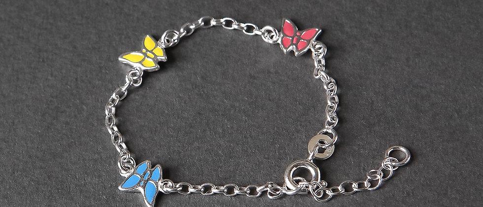 Child Butterfly Bracelet