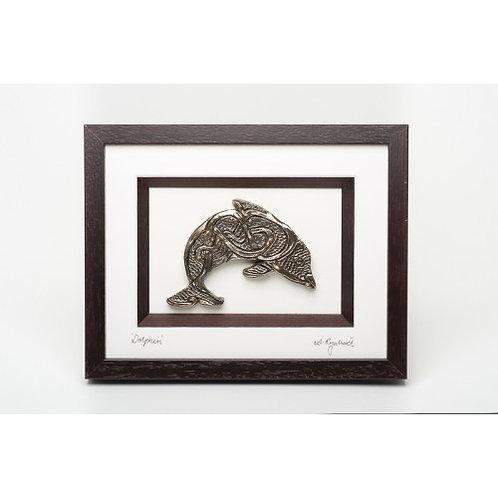 Dolphin - Framed Bronze