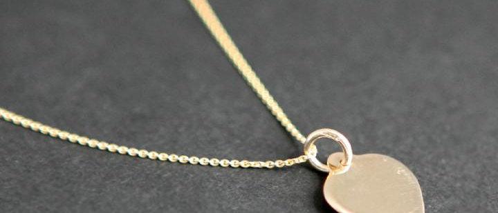 Gold Heart Disc