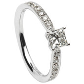 SER09 Solitaire Ring