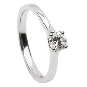 SER24 Solitaire Ring