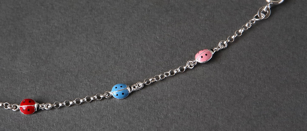 Child Ladybird Bracelet