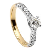 SER14 Solitaire Ring