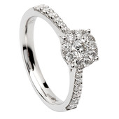 SER18 Solitaire Ring