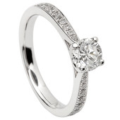 SER15 Solitaire Ring