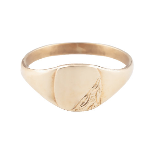 Gents Gold Signet Ring