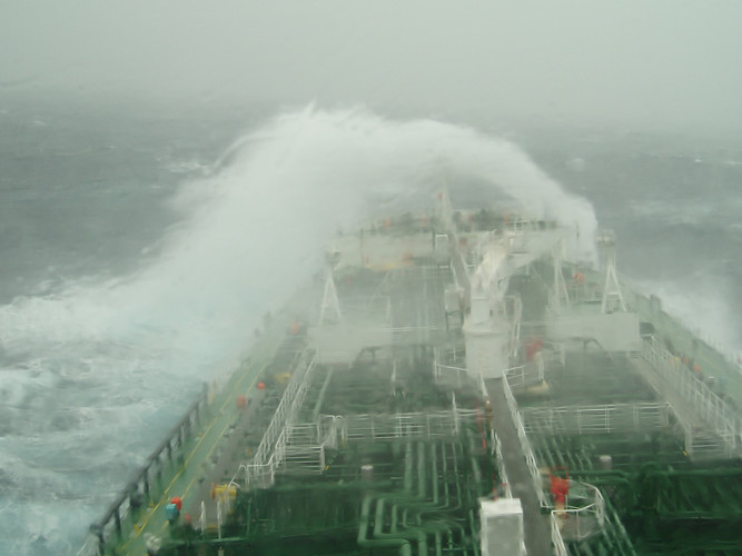 Rough weather