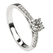 SER23 Solitaire Ring