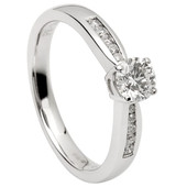 SER07 Solitaire Ring