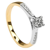 SER13 Solitaire Ring