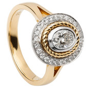 HER26 Halo Engagement Ring
