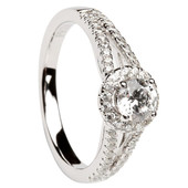 HER06 Halo Engagement Ring