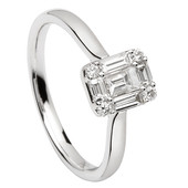 SER19 Solitaire Ring