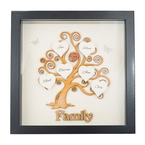 Family Tree Frame - Custom Made