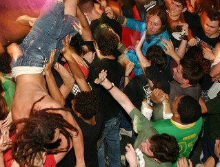 Why the moshpit is no place for the bespectacled