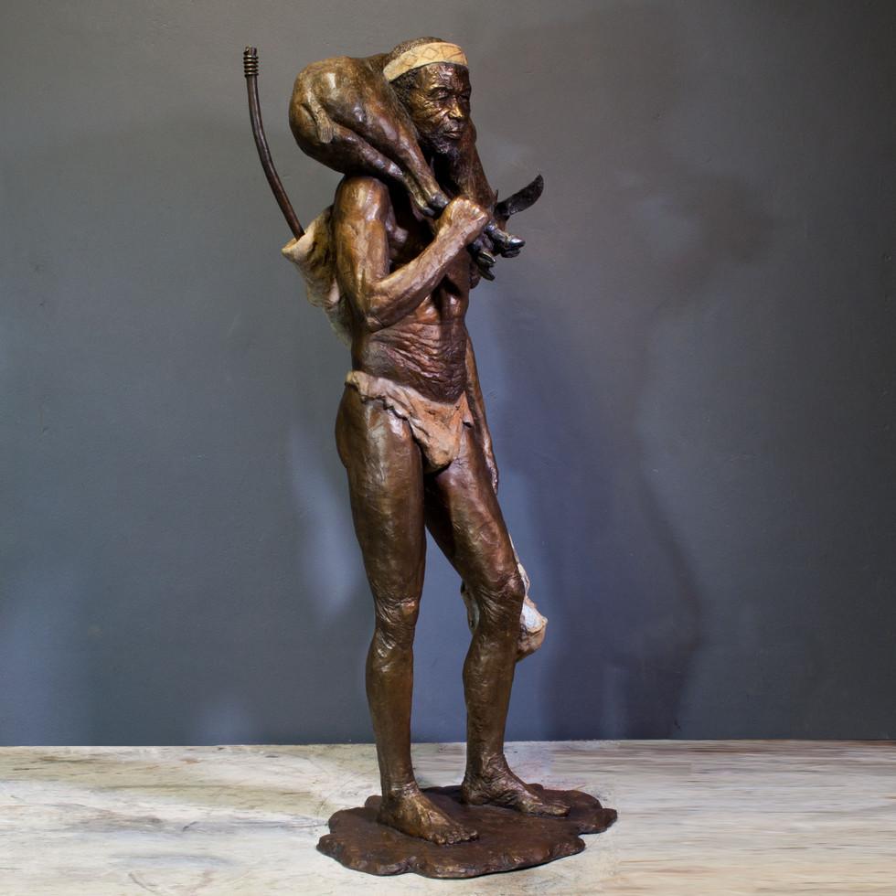 Bushman Returning Hunter