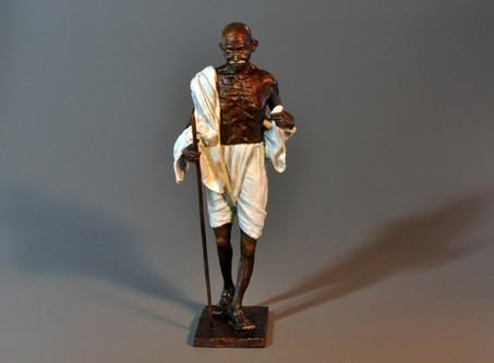 Mahatma Gandhi. Height 45cm