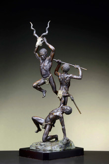 Page Title. Hunting Dancers. Height 68cm