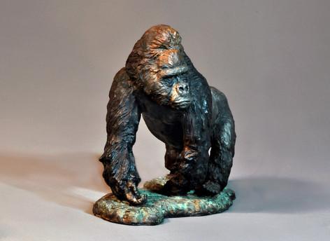 Gorilla. Height 29cm x 35